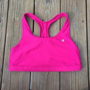 Champion Double Dry Pink Sports Bra (L)